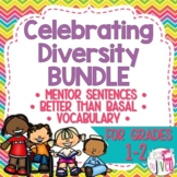 Celebrating Diversity Bundle for 10 Diverse Mentor Texts (Grades 1-2)