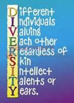 Celebrating Diversity - Diversity Notes