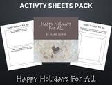 Celebrating Diversity: Happy Holidays For All Activity Sheets