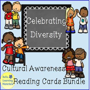 Celebrating Diversity - Reading Language Cards