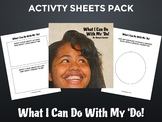 Celebrating Diversity: What I Can Do With My 'Do! Activity Sheets