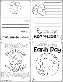 Celebrating Earth Day-Foldable Book Activity