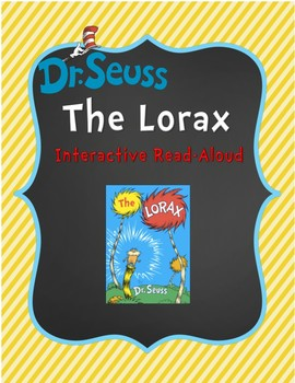 Celebrating Earth Day With Dr. Seuss: Interactive Reading of The Lorax