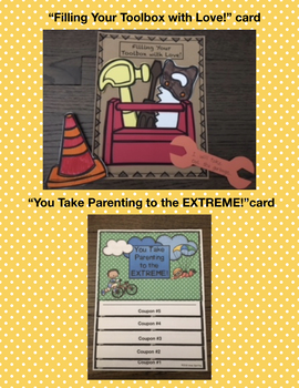 """Mother's and Father's Day Coupon Books - Celebrating """"Extreme-ly"""" Great Parents"""