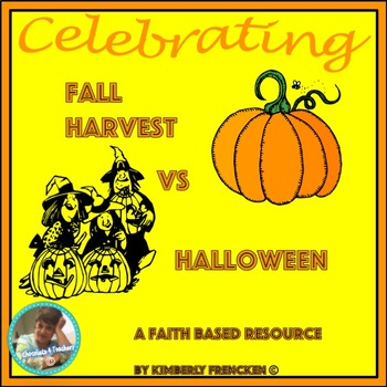 Celebrating Fall Harvest or Halloween: Faith-Based Non-fiction Reading Resource
