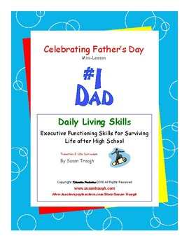 Celebrating Father's Day--A Daily Living Skills Mini Lesson