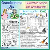 Celebrating Grandparents (Grandparents Day) – Lively Printable Puzzle Pack