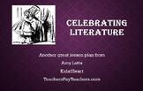 Celebrating Literature Preschool Lesson with Free Folder Game
