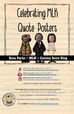 Celebrating MLK Quote Posters