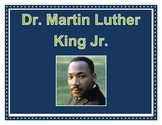 Martin Luther King: Nonfiction Book and Activities