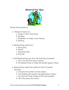 DLS Mini-Lesson-Celebrating Memorial Day