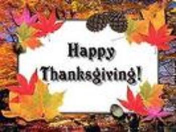 Celebrating November