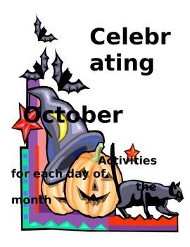 Celebrating October Activities