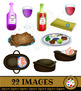 Celebrating Passover ClipArt Illustration Set
