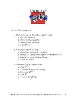 DLS Mini-Lesson-Celebrating President's Day