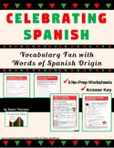 Vocabulary Activities: Fun with Common Spanish Words