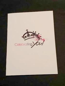 Celebrating You Greeting Card $2.99 each