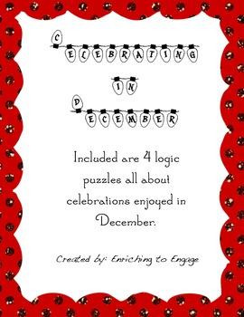 Celebrating in December Logic Puzzles