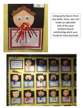 Celebrating our Success in 3rd Grade - A Bulletin Board