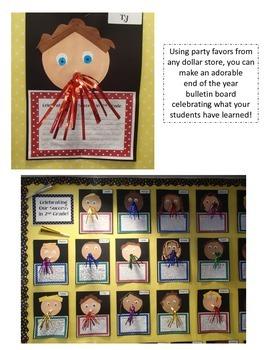 Celebrating our Success in 3rd Grade - A Bulletin Board