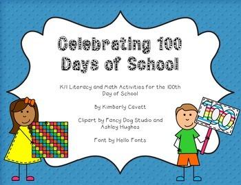Celebrating the 100th Day of School in K/1