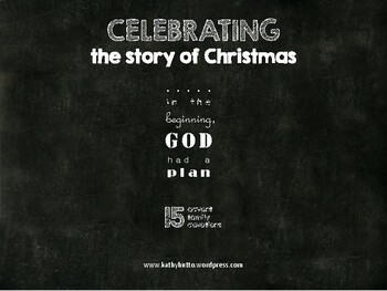 Celebrating the Story of Christmas Advent Family Devotional