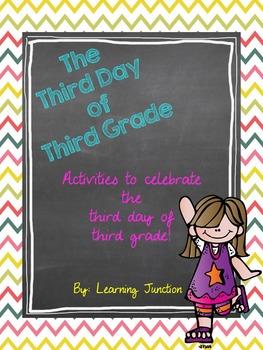 Celebrating the Third Day of Third Grade!