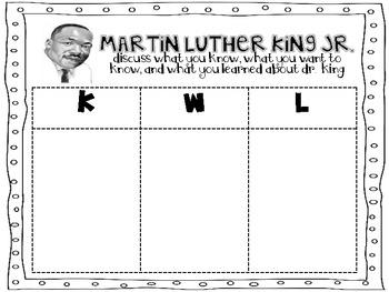 Celebrating the life of Dr. Martin Luther King Jr. {a mini-unit}