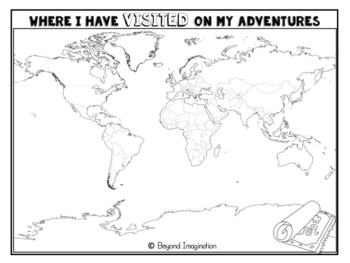 Celebration Adventurer Booklet | for Little Learners | Around the World