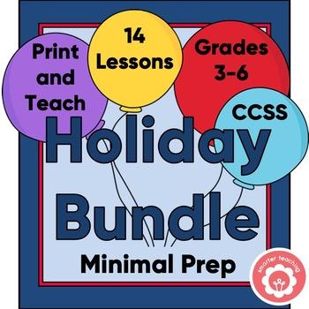 Holiday Bundle For Grades 3-6