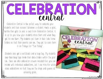 Celebration Central: Goal Setting Celebrations & Rewards