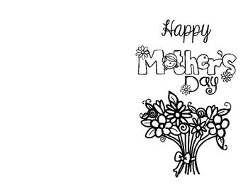 Celebration Day 1: Mothers' Day Card FREEBIE