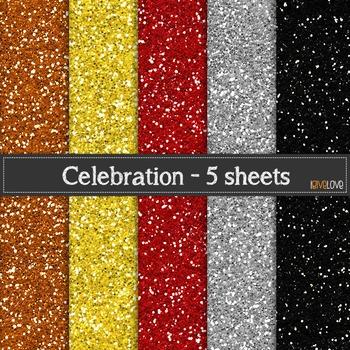 Celebration Glitter Paper