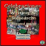 Celebration Research and Essay Writing Activities