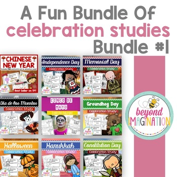 Celebration Studies Bundle of Fun #1 (includes Chinese New Year)