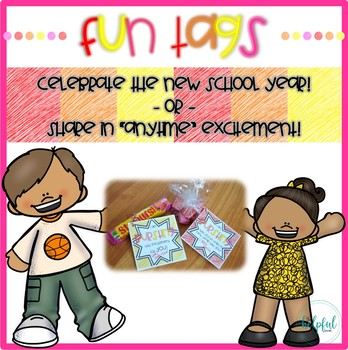 FUN FREEBIE! Celebration Tags - Back to School and BIG events