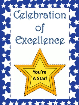 """""""Celebration of Excellence"""" Wall - Motivation Display for Assessments"""