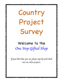 Celebration of Nations!  Country Project Survey