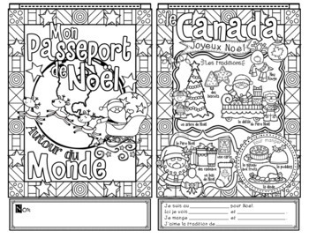 Christmas and Celebrations Around the World FRENCH BUNDLE