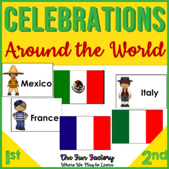 Celebrations Around the World {Informational Text, Crafts + Wksheets} CCS Driven