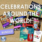 Celebrations Around the World Bundle! Italy, India, Japan,