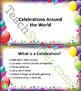 Celebrations Around the World Unit Plan
