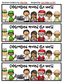 Celebrations (Christmas) Around the World Bookmarks
