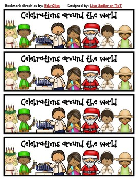 Celebrations (Christmas) Around the World Bookmarks