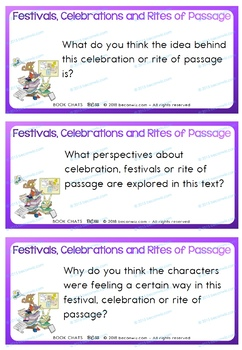 Celebrations, Festivals and Rites of Passage Book Chat