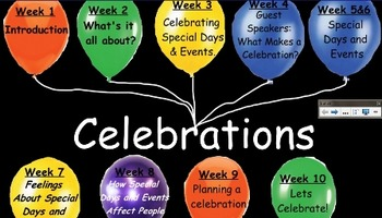 Celebrations- Interactive unit