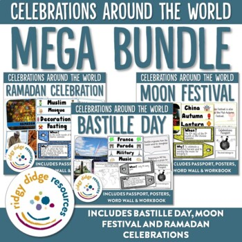 Celebrations Mega Bundle 2 Ramadan, Moon Festival, Bastille Day