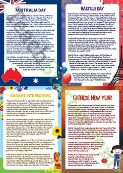 Celebrations - Teaching Resource Pack