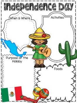 Celebrations & Traditions Around the World Graphic Organizers