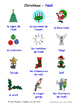 Celebrations and Christmas in French Word searches / Wordsearches